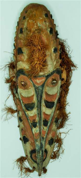 Small New Guinea House Mask