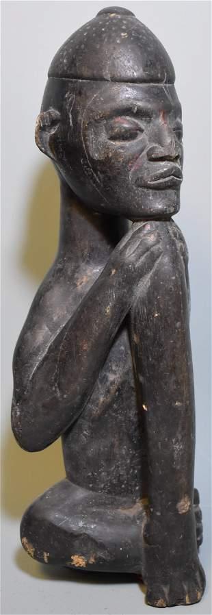 Rare Kuba Seated Figure