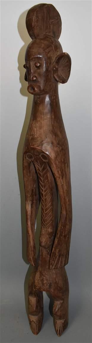 Exceptional Mumuye Male Figure Nigeria