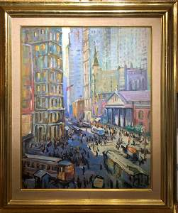 Ruth A. Anderson(1891-1957) American Oil Signed