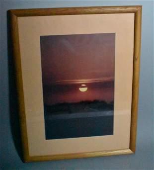 Lithograph Sunset