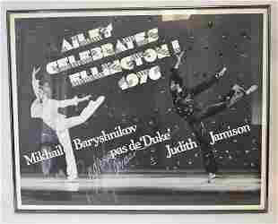 Vintage 1976 Ailey Celebrates Ellington Poster