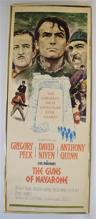 The Guns of Navarone Vintage Movie Poster