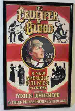The Crucifer of Blood Sherlock Holmes Autographed