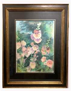 John LaFarge (1835-1910) Pastel Sgd.
