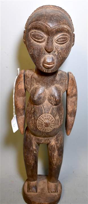 Particularly Early East African Female Figure