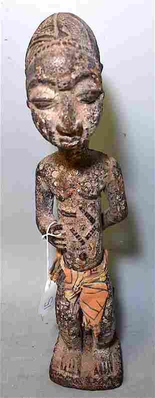 Boule Figure of a Young Boy