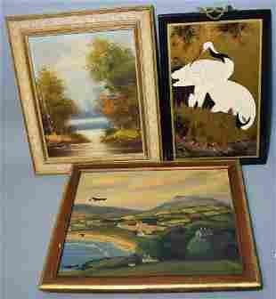 3 Artworks FLA New England Landscapes ETC