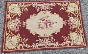Antique Small French Tapestry
