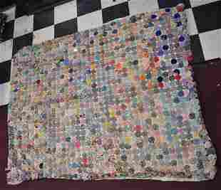 New Hampshire Button Flower Quilt