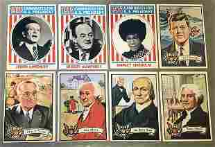 1972 Topps US Presidents Cards 31