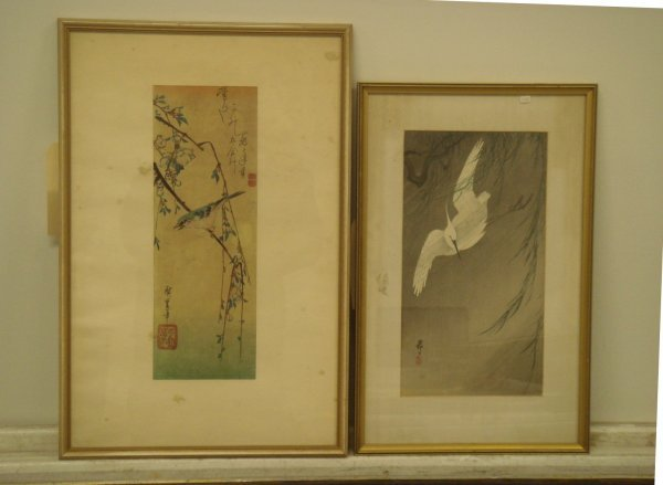 706A: Two(2) Japanese Woodblock Prints