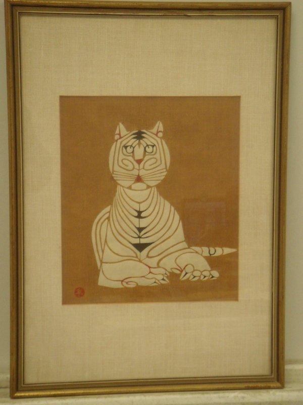 708A: Kiyoshi Saito; Woodblock Print