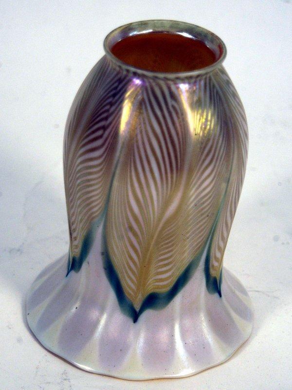 2: TIFFANY ART GLASS SHADE