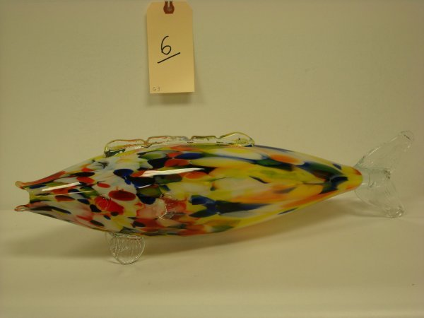 6: VENETIAN GLASS FISH