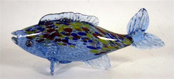 18: VENETIAN ART GLASS FISH