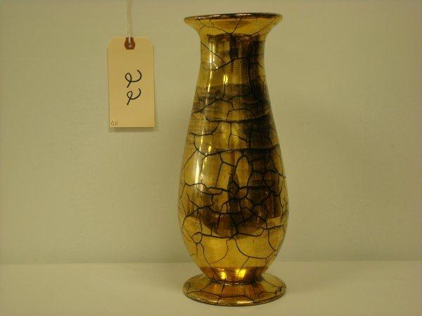22: EUROPEAN ART GLASS VASE