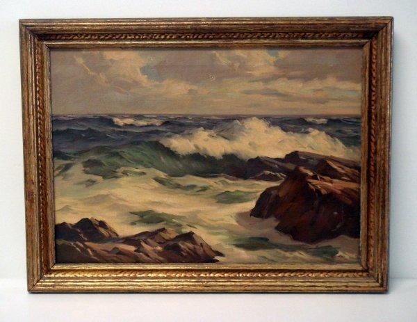 57: Alphonse J. Shelton oil on canvas