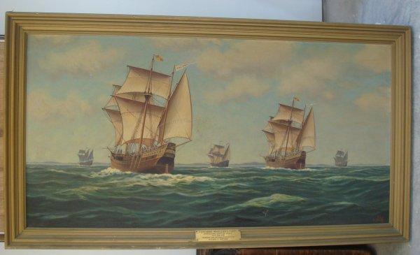 219: Alexander Nelke;oil on canvas