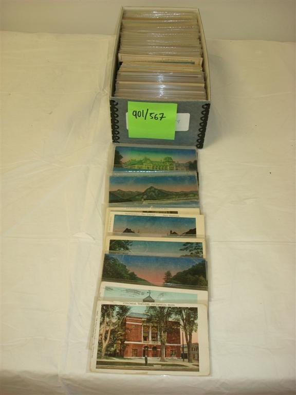 901: AMERICAN AND EUROPEAN POSTCARDS