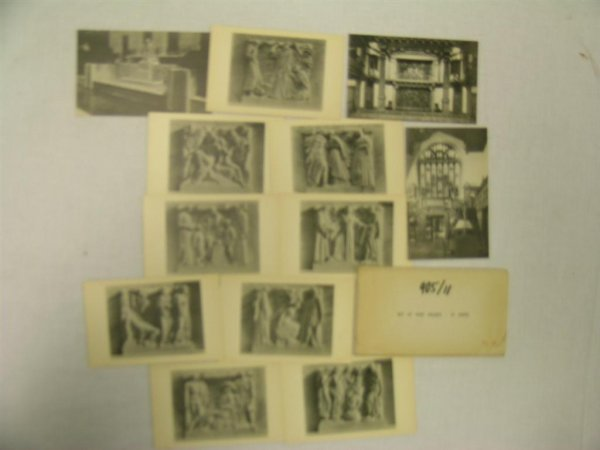 905: HIGH RELIEF POSTCARDS