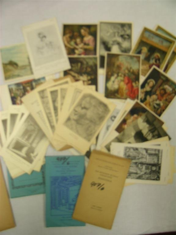 907: MUSEUM OF ART CARDS