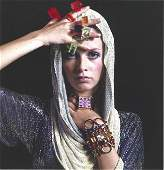 Twiggy Fashion Bert Stern Publication Photo