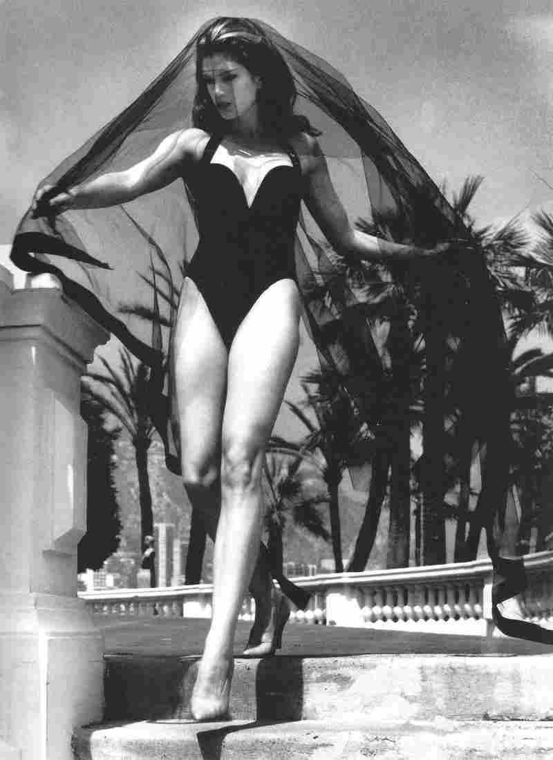 Cindy Crawford Helmut Newton Monte Carlo Photo