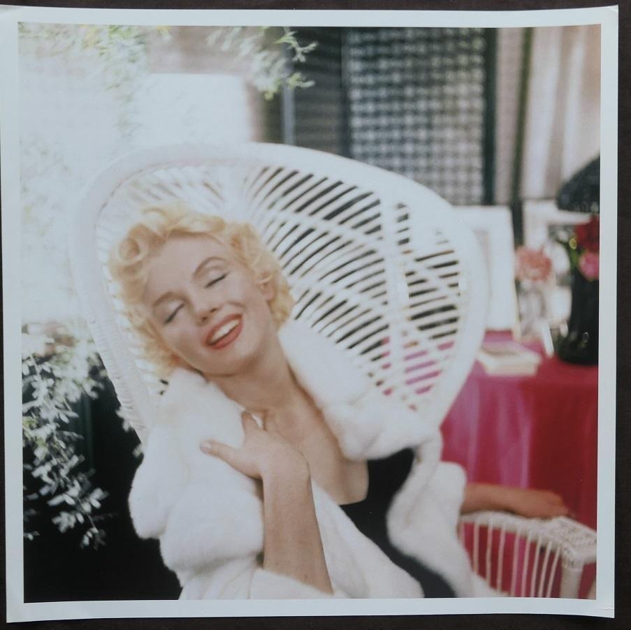 Marilyn Monroe Cecil Beaton Pulication Photo