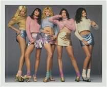 The Supermodels Richard Avedon Versace Photo
