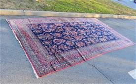 Antique Kashan Palace Size Carpet