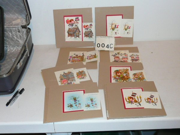GREETING CARD ILLUSTRATIONS