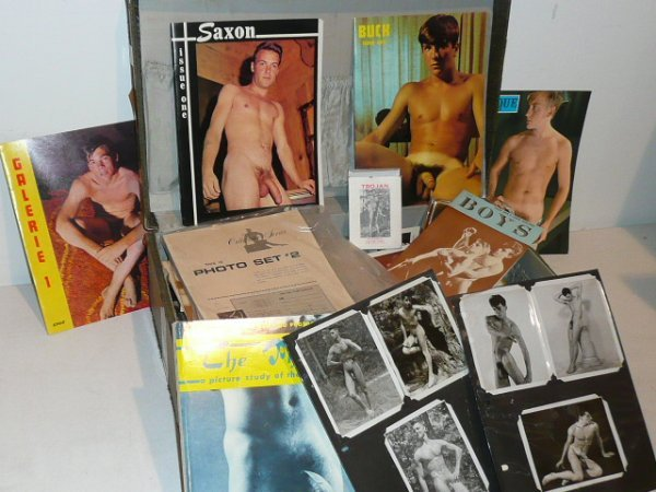 VINTAGE EROTIC ART AND COLLECTIBLES