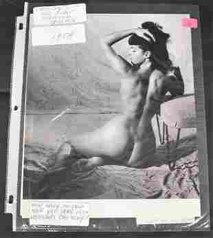 1954 1st Session Bettie Page Photo