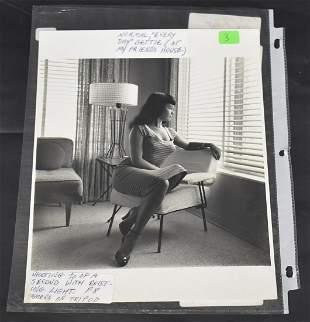 """Everyday"" Bettie Page Photo"