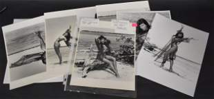 """""""Forbidden"""" Collection of Bettie Page Photographs (9)"""