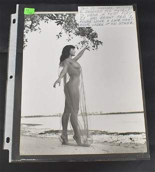 Bettie Page Photographs(2)