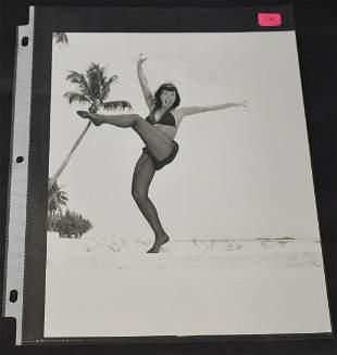 Bettie Page Burlesque Photo