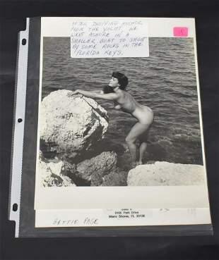 Bettie Page Florida Keys Photo