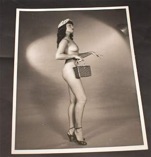 Bettie Page Nude Photograph