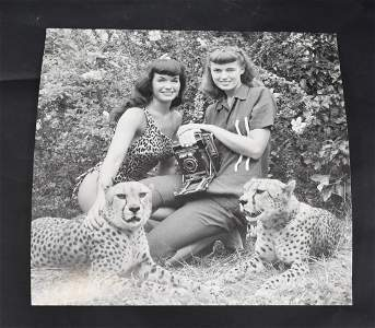 Bettie Page Bunny Yeager Photo