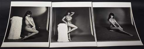 Bettie Page Photos Sgd Bunny Yeager 3