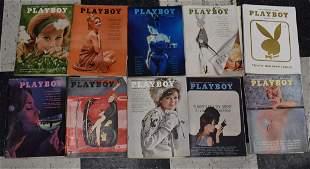 1963 Playboy Magazines (10)