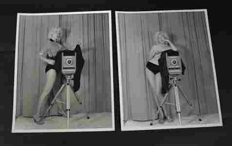 Bunny Yeager with Camera Photos (2)