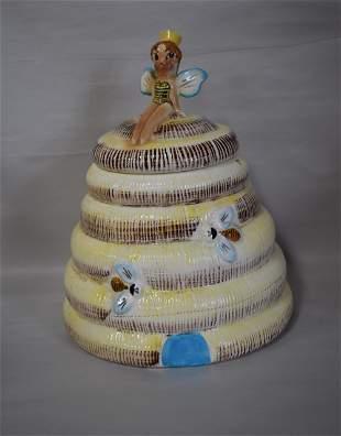 Rare Starnes Queen Bee Cookie Jar