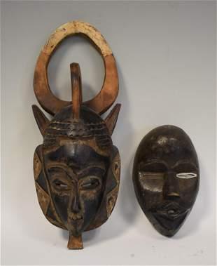 African Carved Masks (2)