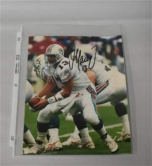 Dan Marino Autographed Photo
