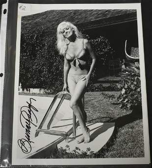 Bunny Yeager Signed Photo