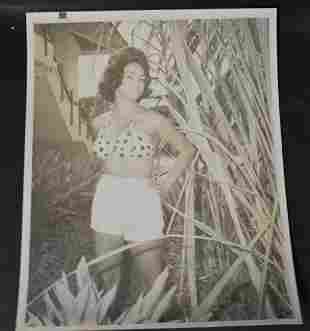 Bunny Yeager Silver Gelatin Photo