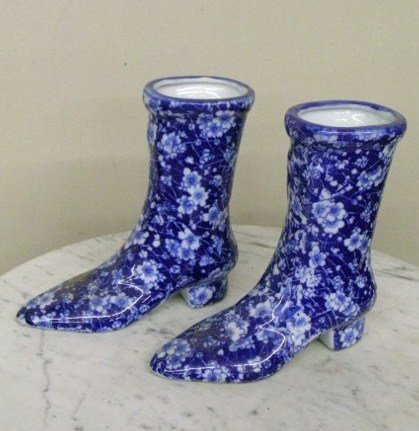 PAIR OF IRONSTONE BOOTS